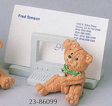 Bitty Bears Business Card Holder