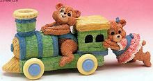 Bearly Babies Figurine Train Ride