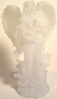 White Angel Sculpture