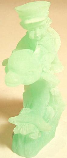 Dolphin w/ Child - green