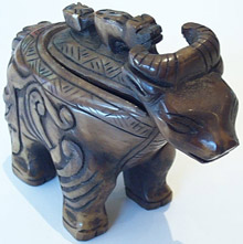 Stone Carved Mythical Creature