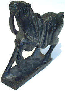 Stone Carved Horse