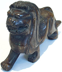 Stone Carved Mythical Lion